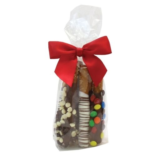 Mini Gourmet Gift Bags - Chocolate Penny Rods (6 Rods)