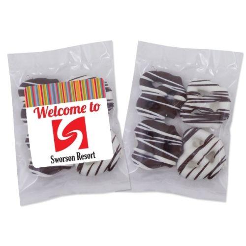 Individual Treat Bag - Chocolate Mini Pretzels (4 Pieces)