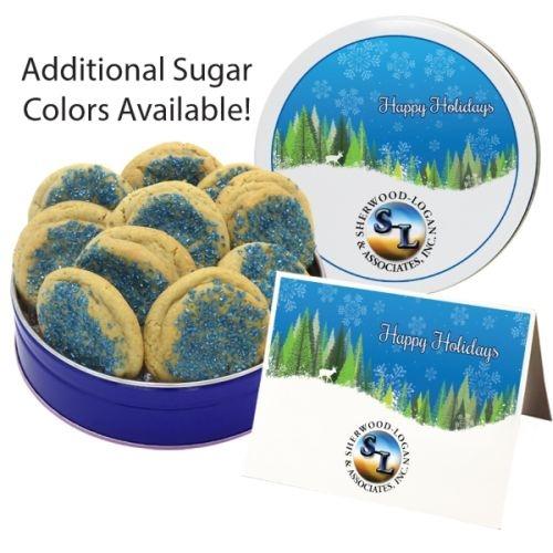 Crystal Sugar Cookies - Small Tin