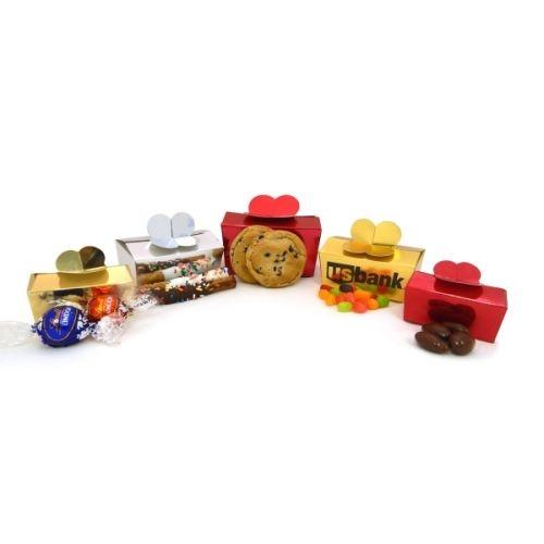 Mini Chocolate Pretzel Rods - Large Touch Boxes