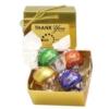 Swiss Chocolate Lindor® Truffles (4) - Ballotin Box