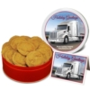 Peanut Butter Cookies - Small Tin