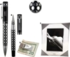 Money Clip With Dot Pattern Against Millennium Silver