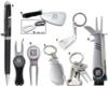Silver Golfbag Keychain