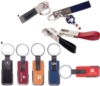Solid Color Metal Keychain