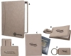 Tan Colored Leatherette Holder For Passports