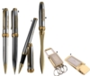 Inluxus Executive Style Snap-Off Cap Rollerball Pen & Letter Opener Set