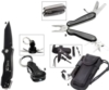 Survivor Tool Kit With Flashlight, Flint Stick And Kns-Bk (A) Knife