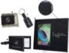 Black Leatherette Magnetic Money Clip