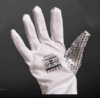 Silver Sequined Glove - Left Hand