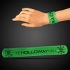 Green Slap Bracelets (8 3/4