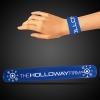 Blue Slap Bracelets (8 3/4