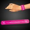 Pink Slap Bracelets (8 3/4