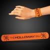 Orange Slap Bracelets (8 3/4