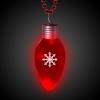 LED Jumbo Christmas Bulb Necklace