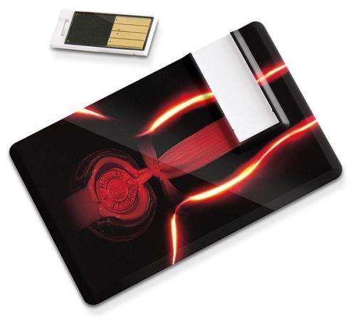16 GB Sliding USB Flash Drive Card