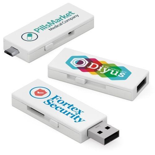 2 GB Duo Micro USB Flash Drive