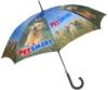 The Full Color Digital - Auto Open Stick Umbrella