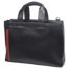 The Consulate Leather Briefcase w/ Padded Shoulder Strap