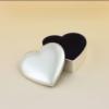 Heart Shaped Silver Plated Keepsake Boxes