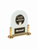 Domed Acrylic Plaque with Brass Base & CAM Medallion (6