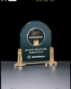 Airflyte Series Arched Acrylic Award with CAM Medallion