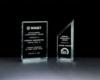 Classic Series Free Standing Jade Acrylic Award (5