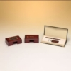 Rosewood Finish Business Card Box