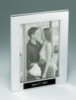 Polished Silver Aluminum Picture Frame (5 3/8