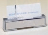 Polished Silver Business Card Holder (1