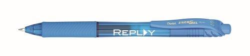 Energel-X® Metal Tip Gel Ink Pen - Sky Blue