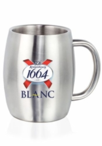 14 oz. Agnes Stainless Steel Double Wall Mug