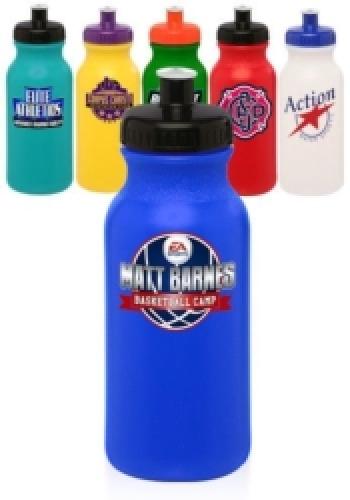 20 oz Custom Plastic Water Bottles