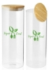 64 oz. Store N Go Glass Storage Jar with Bamboo Lids