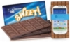 3oz Belgian Chocolate Bar w/ 4-color Process Wrapper