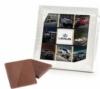 12 Custom Belgian Chocolate Deluxe Squares in Gift Box - Multiple Designs