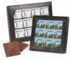 9 Custom Belgian Chocolate Deluxe Squares in Gift Box - Single Design
