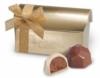 Treasure Chest w/ 2 Belgian Chocolate Hazelnut Truffles