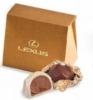 Envelope Box w/ 2 Belgian Chocolate Hazelnut Truffles