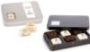6pc Showcase Tin w/Custom Imprinted Truffles