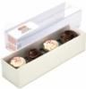 4pc Cupcake Truffle Gift Box w/ Custom Imprinted Label