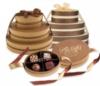 Signature Oval Bronze 2pc Chocolate Truffle Box