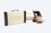 Suitcase Gift Box w/ 2 Belgian Chocolate Hazelnut Truffles