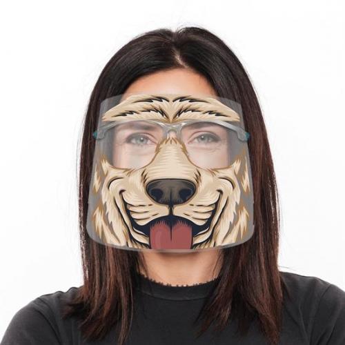 Fun Animal Face Shields