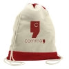 The Excursionist Cotton Drawstring Backpack