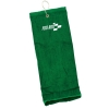 Tri-Fold Embroidered Golf Towel