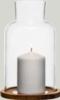 Oak candleholder