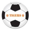 Soccer Ball Shaped Luggage Tag