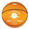 Basketball Shaped Luggage Tag