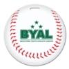 Baseball Shaped Luggage Tag
